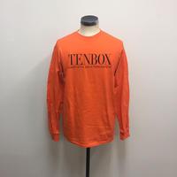 【PIGU HOUSE】【Kenzai.Depot】TENBOX×EAST4TH L/S TEE ORANGE(N)