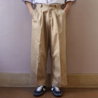 SOLARIS&Co.(ソラリスアンドコー) TROPICAL CHINO PANTS BEIGE【S20SS-FR03】