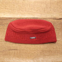 SOLARIS HATMAKERS & Co.  COTTON AFRIACAN CAP ZAMUNDA/SCARLET【SH19SS-02】(N)