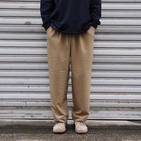 S.F.C  FW20 WIDE STRAIGHT PANTS WOOL Beige【SFCFW20P01】