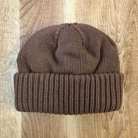CREPUSCULE クレプスキュール knit cap 1 1803-013  Brown(N)