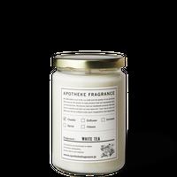 APOTHEKE FRAGRANCE アポテーケ フレグランス GLASS JAR CANDLE / White Tea(N)