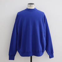 EASTFAREAST(イーストファーイースト) MODEL002 BALOON MOCKNECK ROYAL BLUE(N)