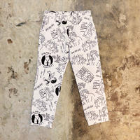 TEN BOX(テンボックス) TENBOX×FACE ACID PANTS White(N)