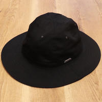 "SOLARIS HATMAKERS & Co. TROPICAL  HAT ""SANTAMARTA"" BLACK【20SS01010】(N)"