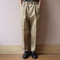 UNITUS(ユナイタス) FW19 Easy Dress Pant Beige【UTSFW19-P01】(N)