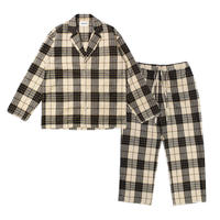 """NOWHAW ノウハウ  """"day""""pajama flannel check【P-S370-H】(N)"""