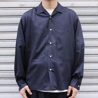 UNITUS(ユナイタス) SS20 Open Collar Shirt  Navy【UTSSS20-S03 】(N)