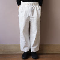 S.F.C  SS20 SFC STRAIGHT PANTS Off White【SFCSS20P01】(N)