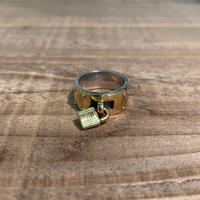 Hermès Vintage(エルメス ヴィンテージ) Sterling Silver & 18k Gold Ring【VH23】(N)