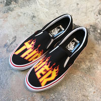 VANS X THRASHER   SLIP-ON PRO  BLACK    VN0A347VOTE