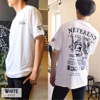 バイカー プリント Tシャツ  9683101-10(ホワイト)