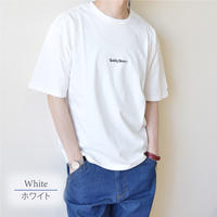 Teddy Bear テディベア ロゴ刺繍入り Tシャツ 0423704-10(ホワイト)