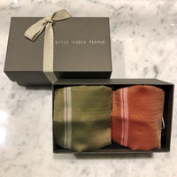 orit. -kin gift set C orange+green /オリット キン ギフト セット C  orange+green