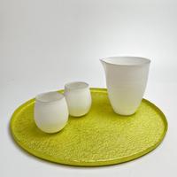 【期間限定作品】牧野広大-ムーントレイ L-イエロー/Koudai Makino- Moon Tray L-yellow