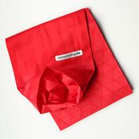 marumasu/折り紙スカーフ-ORIGAMI SCARF monomatopee/red