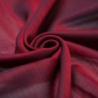 orit.-kin multi purpose chief red /オリット - キン  織柄グラデーションマルチチーフ  レッド