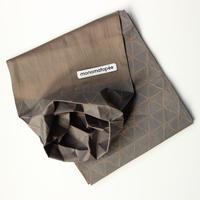 marumasu/折り紙スカーフ-ORIGAMI SCARF monomatopee/khaki