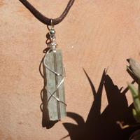 水晶ネックレス パキスタン産 ヒマラヤ水晶