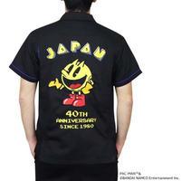 PCM-09 40thパックマンT/R刺繍シャツ