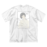 幽霊春画:半袖Tシャツ(白)