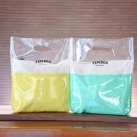 TEMBEA/VINYL BAG 2TONE