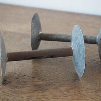 ブリキの糸巻き2点セット