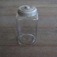 ガラスの角瓶
