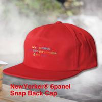 NewYorker 6panel Snap Back Cap