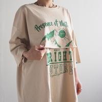 ピグメントレーヤード風Tシャツ[#Pokke](41229105)