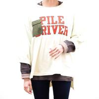 異素材ポケットBIGTシャツ【lime.inc】(40328601)