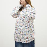 カラフル総柄BIGシャツ(40179062)