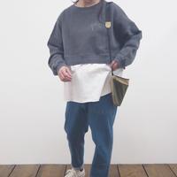 ピグメント+カット切替プルオーバー (41129009)【#Pokke】