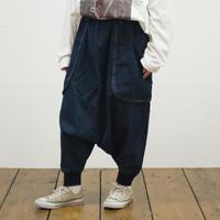 裾リブ台形パンツ(40249471)