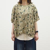 やま刺繍しかくTシャツ【Emago】(40126280)