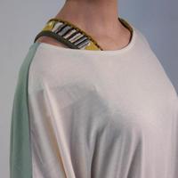 かぎ針肩裾切替タンクトップ【LIME,INC】(40128315)