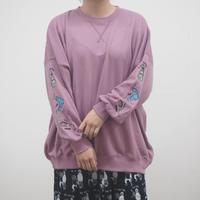袖ヘアケア刺繍プルオーバー(40520831)