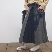 デニムヒッコリースカート(41158402)【LIME,INC】