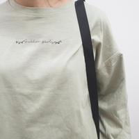 前後刺繍ロングTシャツ(41129002)