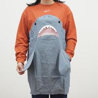 サメ布帛切替ワンピース(40320008)