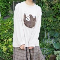 ナマケモノ刺繍トレーナー(40329040)