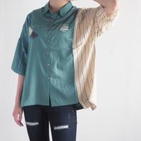 レーヨン×楊柳アシメシャツ[LIME,INC](41178202)