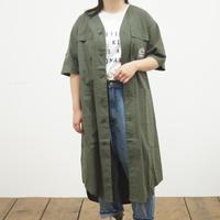 ノーカラーストレッチシャツ【Lime,inc】(40218348)