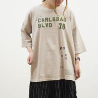 ピグメントプリントビックTシャツ(40229160)