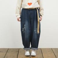 デニム刺繍パンツ 【ScoLar】 (40147065)