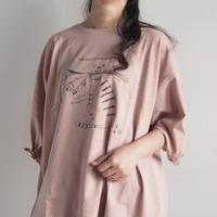 袖リボンCAT刺繍Tシャツ(41229079)
