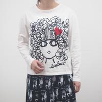 手描きスカラ子ロンT【ScoLar】(40427183)