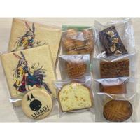 ②ロゴ&キャラクッキー+焼菓子セット