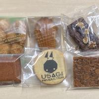 ①ウサギプロジェクトロゴクッキー+焼菓子セット