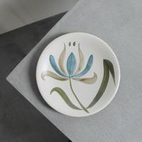 大輪の花平皿